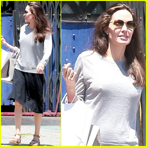 Angelina Jolie Takes Knox to a Toy Shop For Some Quality Time!