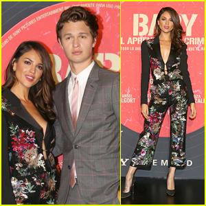 Ansel Elgort & Eiza Gonzalez Premiere 'Baby Driver' in Mexico