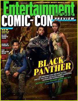 'Black Panther' First Look - See Chadwick Boseman, Lupita Nyong'o & Michael B. Jordan in Character!