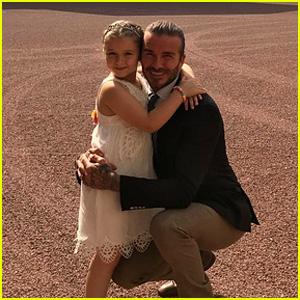 David Beckham Celebrates Harper's 6th Birthday at Buckingham Palace!
