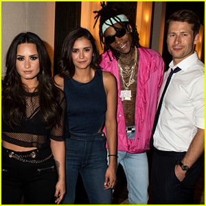Demi Lovato Gets Support From Nina Dobrev & Glen Powell at House Party Tour in Vegas