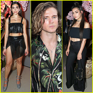 Dua Lipa Lives It Up with 'Wifey' Charli XCX At British GQ Summer Party!