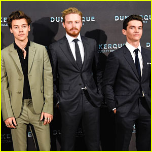 Harry Styles & Fionn Whitehead Premiere New Film in Dunkirk