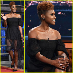 Issa Rae Tells Stephen Colbert She Can't Speak For All Black People