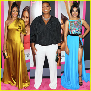 Jada Pinkett Smith, Queen Latifah, & 'Girls Trip' Cast Have Big L.A. Premiere!