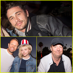 James Franco, Chloe Moretz & More Live It Up at July 4th Weekend Cinespia Screenings!