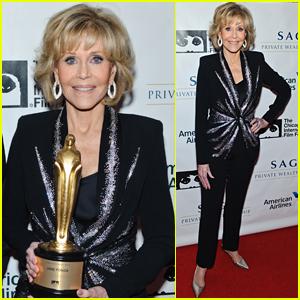 Jane Fonda is Honored for Her Longstanding Career at Chicago Film Festival