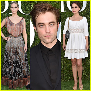 Jennifer Lawrence, Robert Pattinson, & Natalie Portman Step Out for Dior's Exhibition Launch