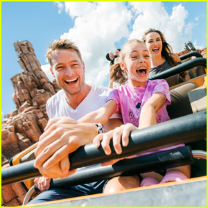 Justin Hartley Takes 13-Year-Old Daughter to Disney World