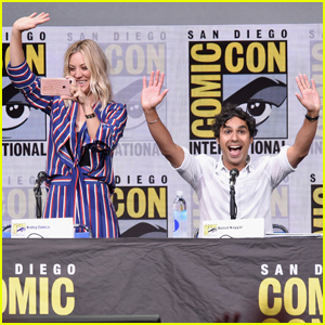 Kaley Cuoco & 'Big Bang Theory' Cast Talk Season 10 Cliffhanger at Comic-Con
