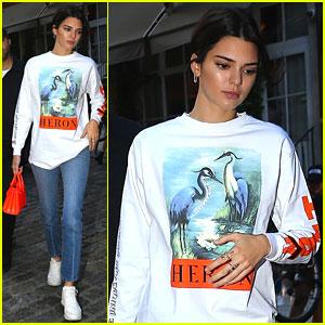 Kendall Jenner Calls Frank Ocean a Legend