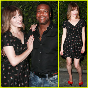Milla Jovovich: I'm So Proud of My Husband & His Movie ...