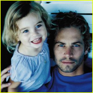 Paul Walker And Daughter 2017
