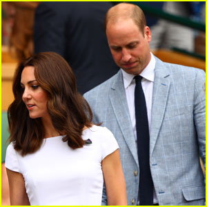 Prince William & Kate Watch Roger Federer Win Wimbledon 2017