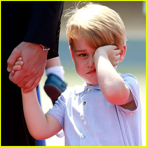 These Sleepy Prince George Photos Are Too Cute!