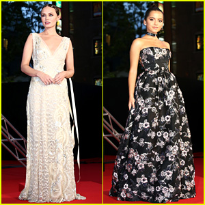 Transformers' Laura Haddock & Isabela Moner Glam Up for Tokyo Premiere!
