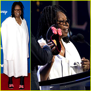 Whoopi Goldberg Wears Minnie Mouse Shoes to Accept D23 Legends Award