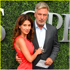 Alec & Hilaria Baldwin Couple Up for US Open Ceremony