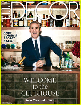 Andy Cohen Gives Us a Look Inside His Amazing NYC Duplex