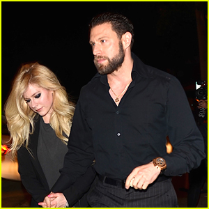Avril Lavingne Holds Hands with Rumored Boyfriend J.R. Rotem on Date Night