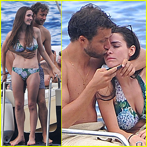 Bee Shaffer & Fiance Francesco Carrozzini Flaunt PDA in Italy!