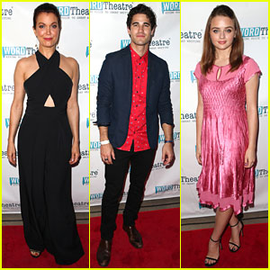 Bellamy Young, Darren Criss, Joey King Attend WordTheatre's In The Cosmos Event