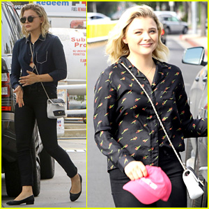ba85051ecef8 Chloe Moretz Reps Her  Planned Parenthood Makes America Great  Hat