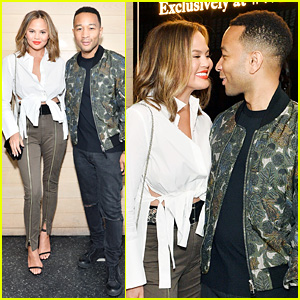 Chrissy Teigen & John Legend Have Picture-Perfect Date Night