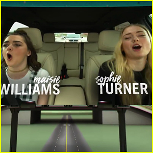 Sophie Turner & Maisie Williams Bring 'Game of Thrones' to 'Carpool Karaoke' - Watch the Preview!