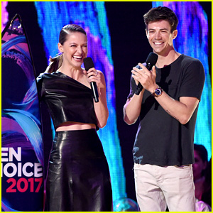 Grant Gustin & Melissa Benoist Are Both Teen Choice Winners!