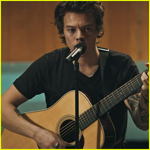 Harry Styles Shares Intimate Live Studio Video for 'Two Ghosts' - Watch Here!