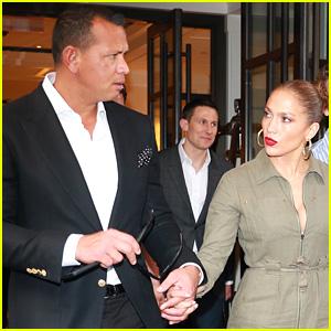 Jennifer Lopez & Alex Rodriguez Hold Hands for NYC Dinner Date