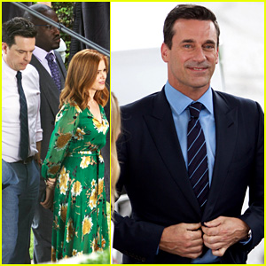 Jon Hamm, Isla Fisher, Ed Helms, & More Begin Filming New Comedy 'Tag'