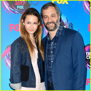 Judd Apatow's Daughter Iris Looks All Grown Up at Teen Choice Awards 2017!