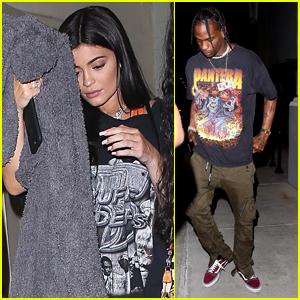 Kylie Jenner Celebrates Her Birthday with Boyfriend Travis Scott