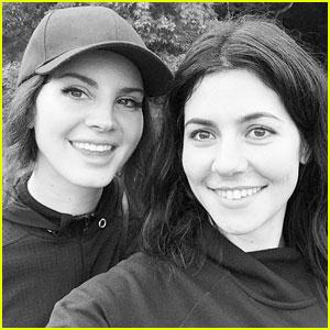 Lana Del Rey Posts Cute Selfie With Marina Diamandis