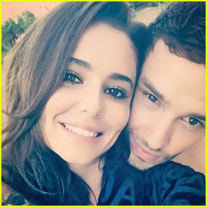 Liam Payne & Girlfriend Cheryl Cole Snuggle Up in Rare Selfie