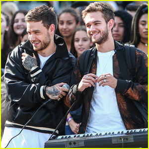 Liam Payne Teams Up With Zedd For 'Get Low' Music Video Shoot