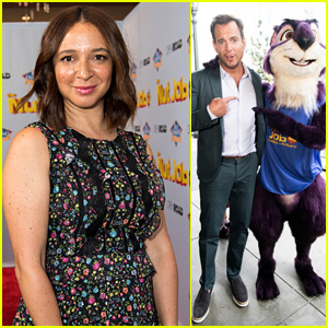 Maya Rudolph & Will Arnett Premiere 'Nut Job 2' in LA