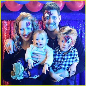 Michael Buble's Son Noah Celebrates 4th Birthday with Another Spider-Man Party!