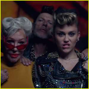 Miley Cyrus Hangs Out with Cool Grandparents in 'Younger Now' Music Video - Watch!