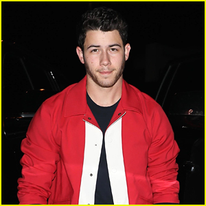 Nick Jonas Looks Red Hot at Dinner in WeHo