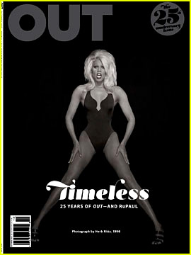 RuPaul Reflects on Legendary Career & the Future of Drag for 25th Anniversary of 'OUT'
