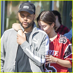 Selena Gomez Nuzzles Up to The Weeknd at the Grocery Store