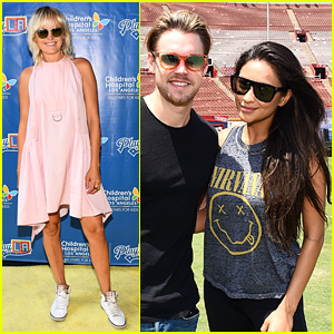 Shay Mitchell, Malin Akerman, & Chord Overstreet Team Up for Children's Hospital Fundraiser