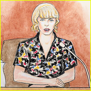 Taylor Swift's Courtroom Sketch Artist Speaks: 'Some People Are Just Much Easier to Draw Than Others'