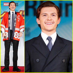Tom Holland Suits Up for 'Spider-Man: Homecoming' Tokyo Premiere!