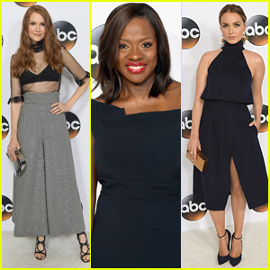 Viola Davis Joins Darby Stanchfield & Camilla Luddington at ABC Party Hosted by TCAs