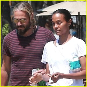Zoe Saldana & Husband Marco Perego Enjoy Family Outing