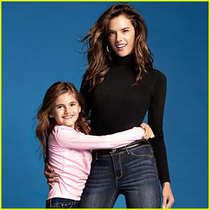 Alessandra Ambrosio Stars in New Fashion Campaign with Daughter Anja!